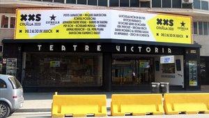 Cancel·lada l'estrena de 'Flotados XL' al Teatre Victòria