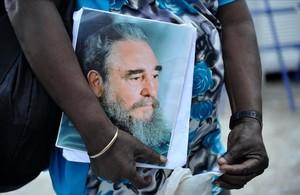 Las imágenes del duelo en Cuba por la muerte de Fidel Castro