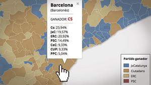 siete mapas votos