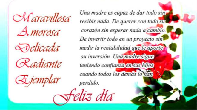 Dia De La Madre 30 Frases E Imagenes Para Desear Un Feliz Dia A Mama