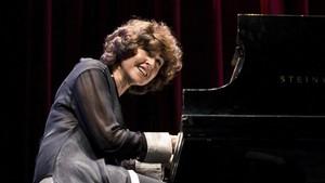 Rosa Torres-Pardo, Premio Nacional de Música 2017,durante un concierto hace tres años.