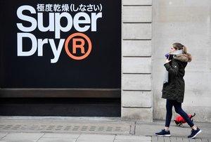 Tienda de Superdry en Londres.