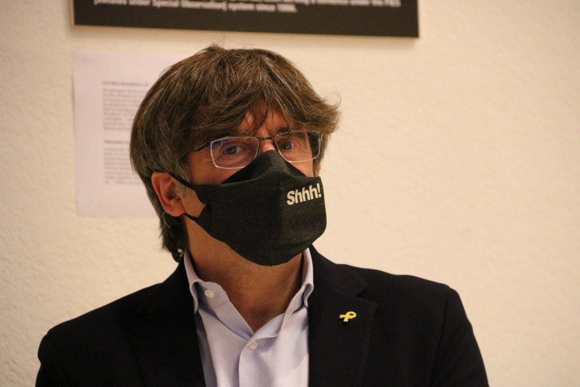 Puigdemont demana no presentar un candidat alternatiu a Torra si l'inhabiliten