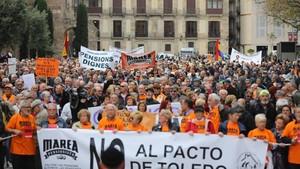 Els pensionistes, en marxa