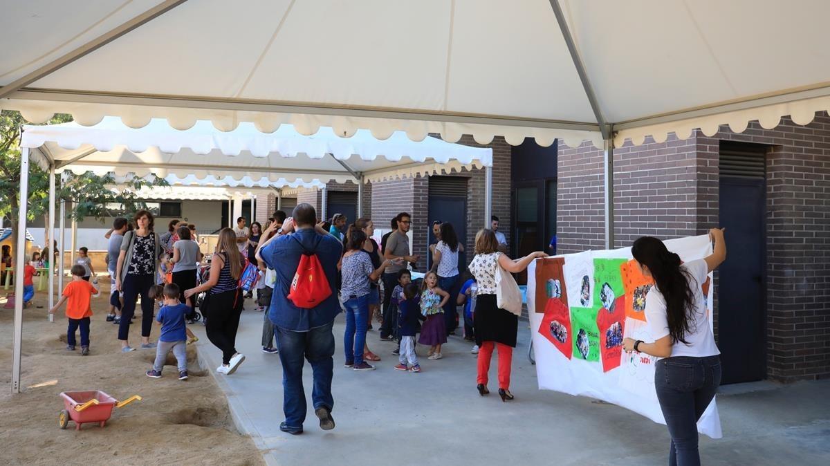 Actividades en el CEIP Arenal de Llevant de Barcelona.