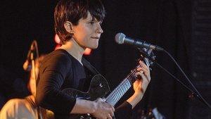 Adrianne Lenker, en el concierto de Big Thief en La 2 de Apolo
