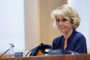La expresidenta de la Comunidad de Madrid, Esperanza Aguirre.