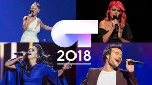 Algunos de los artistas de loséxitos eurovisivos que les pegaría a cada concursante de OT 2018.