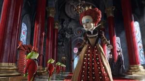 Imagen de la película Alicia en el País de las Maravillas, de Tim Burton.