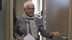 La fiscal jefe de Barcelona, Ana Magaldi, en una imagen de archivo.