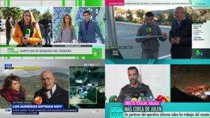 Así ha sido la intensa cobertura de las televisiones en el rescate de Julen, ya encontrado sin vida.