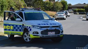 Un operativo de la Policía de Australia.