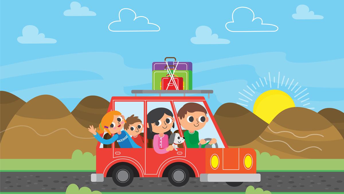 Ruta para viajar con niños.