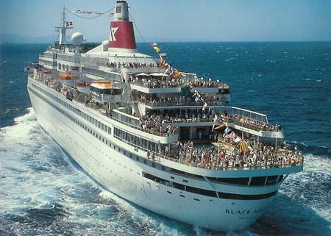 El crucero 'Black Watch'.