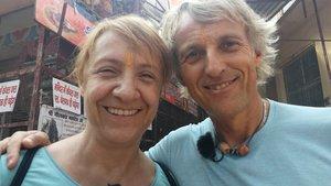 Blanca Portillo junto a Jesús Calleja en 'Planeta Calleja'.