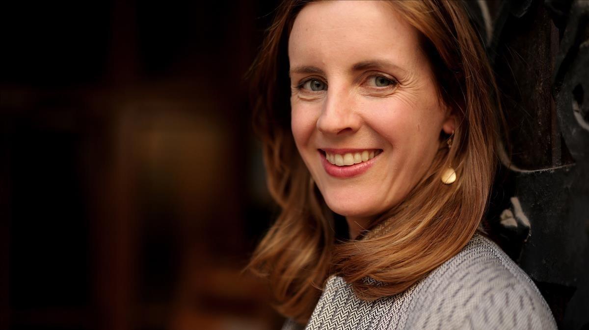 Catherine Nixey, en su reciente visita a Madrid.
