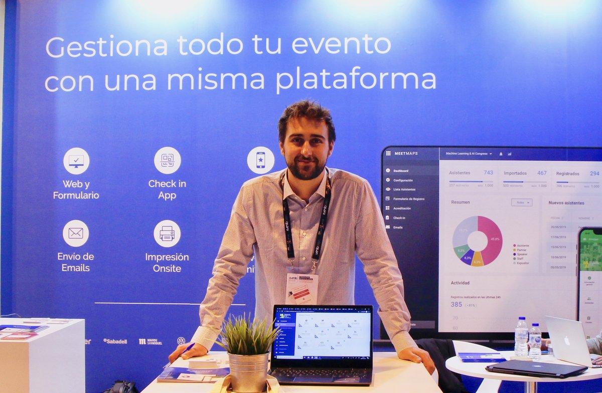 Gerard Salvia, CEO y cofundador deMeetmaps.