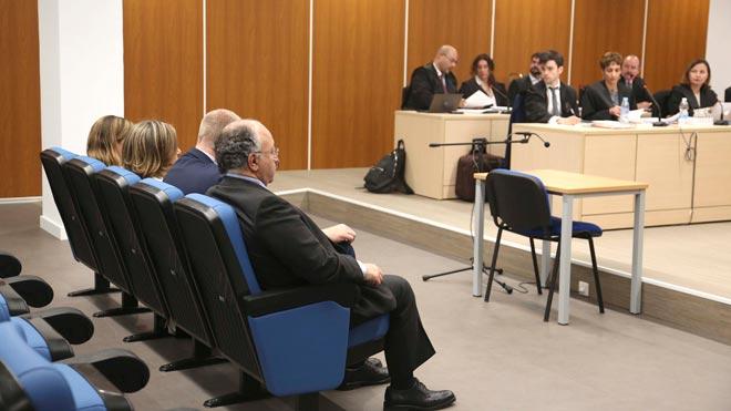 Comienza el juicio al PP por el borrado de los ordenadores de Bárcenas. En la foto,Carmen Navarro y Alberto Durán, en el juicio.