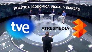 RTVE y Atresmedia proponen dos nuevos debates electorales con los candidatos de las elecciones europeas