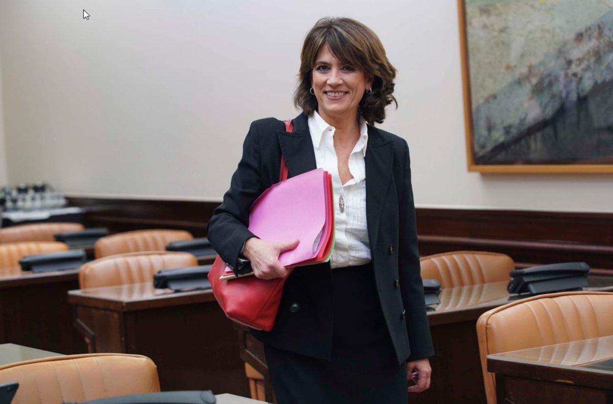 Delgado veu haver sigut ministra una «fortalesa» per ser fiscal general
