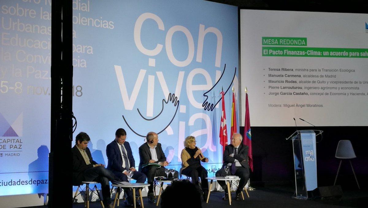 El Pacto Finanzas-Clima es una iniciativa liderada por el Premio Nobel de la Paz, Jean Jouzel, y el economista Pierre Larrouturou.