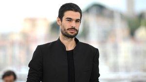 El director Oliver Laxe, tras la presentación de 'O que arde' en el festival de Cannes