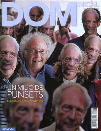 Eduard Punset, a la portada del 'Dominical'.