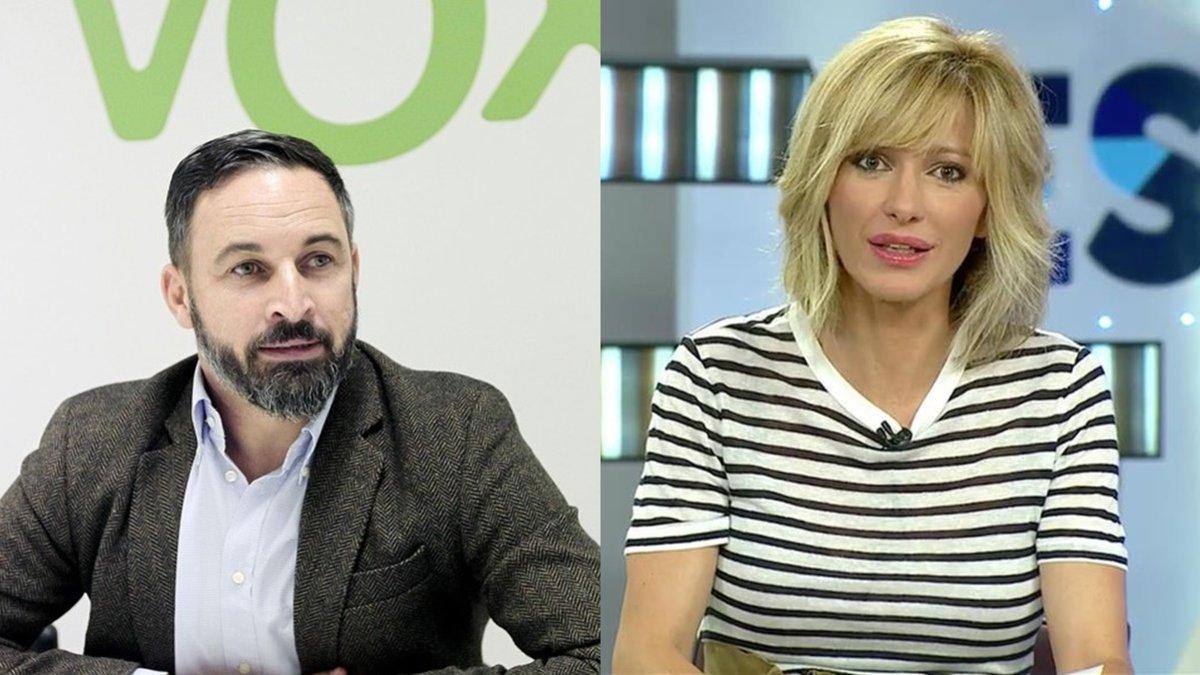 Santiago Abascal, líder de Vox, será entrevistado por Susanna Griso en 'Espejo Público'