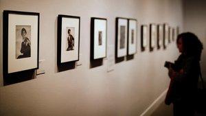 Exposición sobre Berenice Abbot en la Fundación Mapfre.