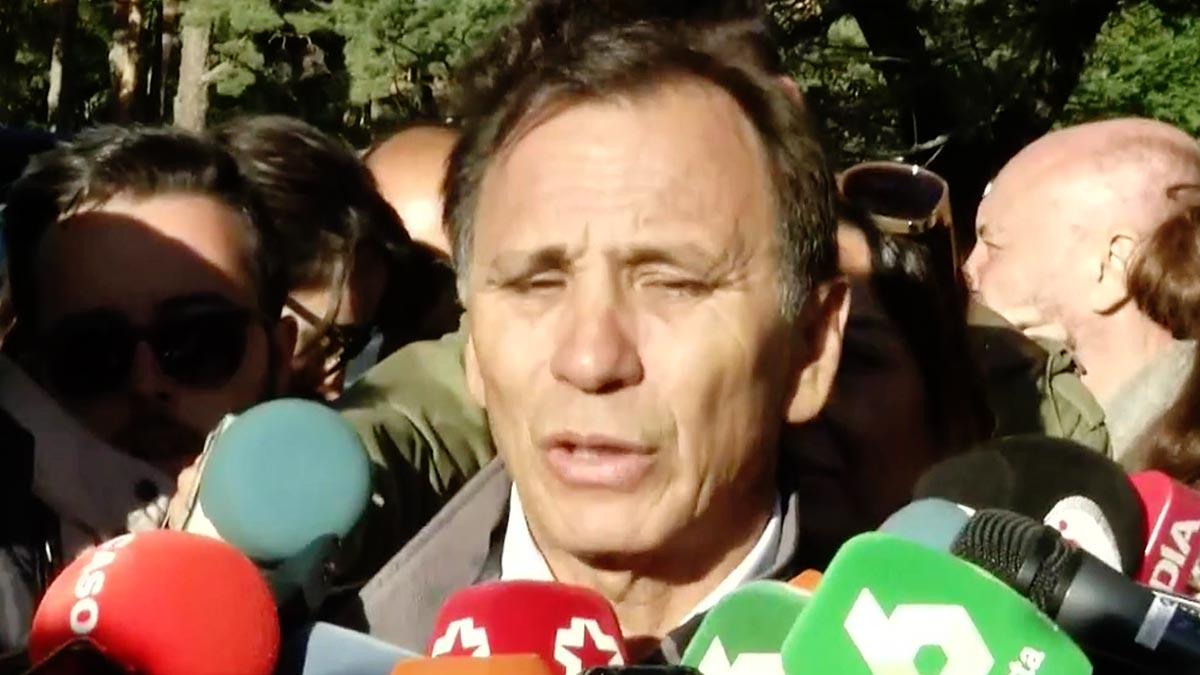 Adrián Federighi, cuñado de Blanca Fernández Ochoa, detalla cómo se organiza el dispositivo de búsqueda.