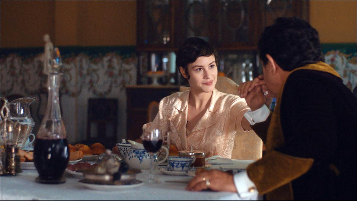 La actriz Aida Folch, en Vida privada, de TV-3.