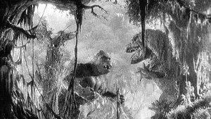 Un fotograma de la película King Kong.