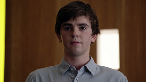 Freddie Highmore en The good doctor.