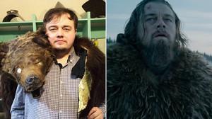 El bessó rus (i plenet) de DiCaprio protagonitza un 'gag' d''El renacido'