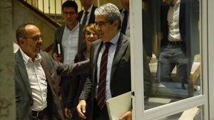 PP, PSOE y Ciudadanos apoyan que el Supremo pueda juzgar a Homs