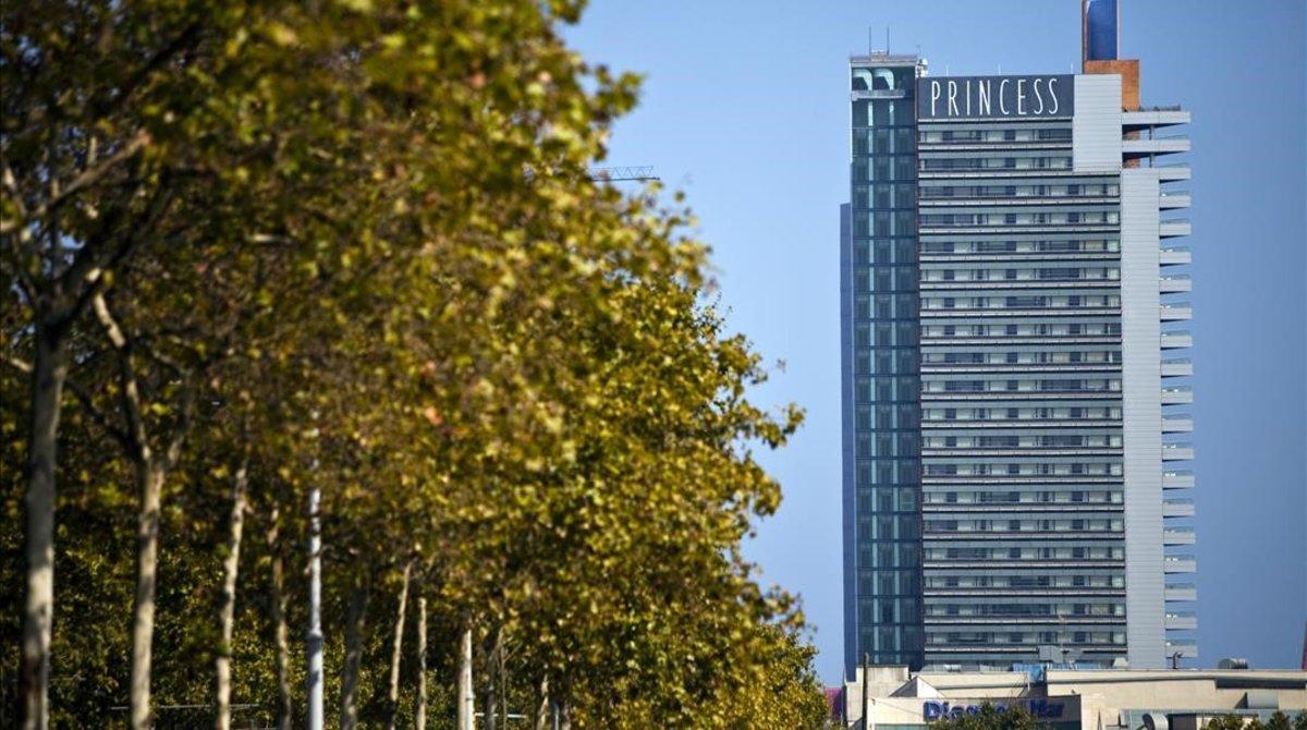 Hotel Barcelona Princess, en la zona del Fòrum.