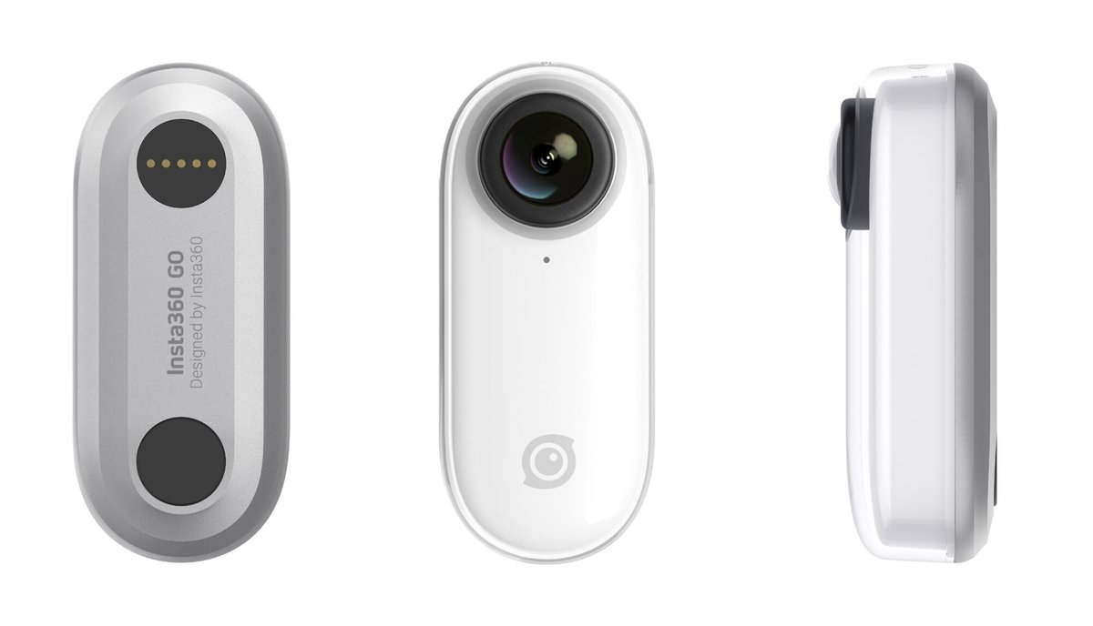 Insta360 Go, diminuta cámara de acción que graba en 4K.
