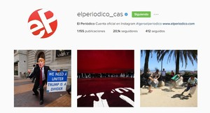 Instagram oficial de EL PERIÓDICO