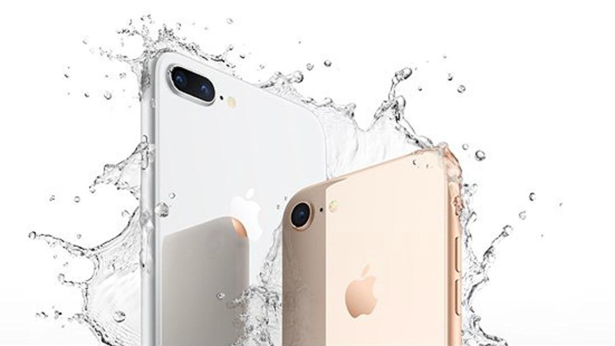 El iPhone 8, durante su presentación.