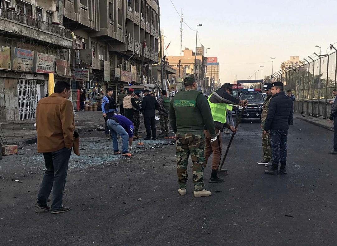 Almenys 36 morts en un atac suïcida a Bagdad