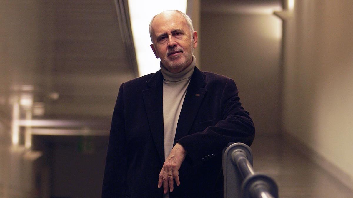 Jesús López Cobos, en el 2010 en Barcelona
