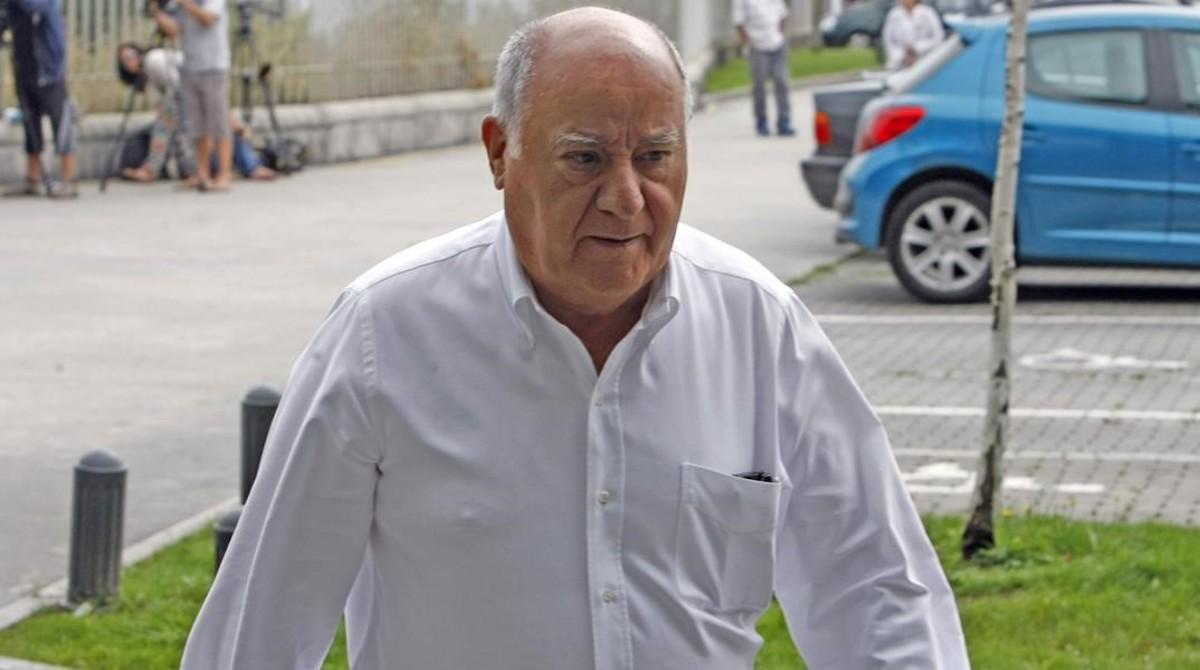 Amancio Ortega, fundador del grupo Inditex, primer grupo multinacional español por capitalización.