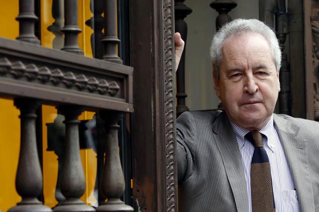 John Banville, en Madrid, el pasado febrero.