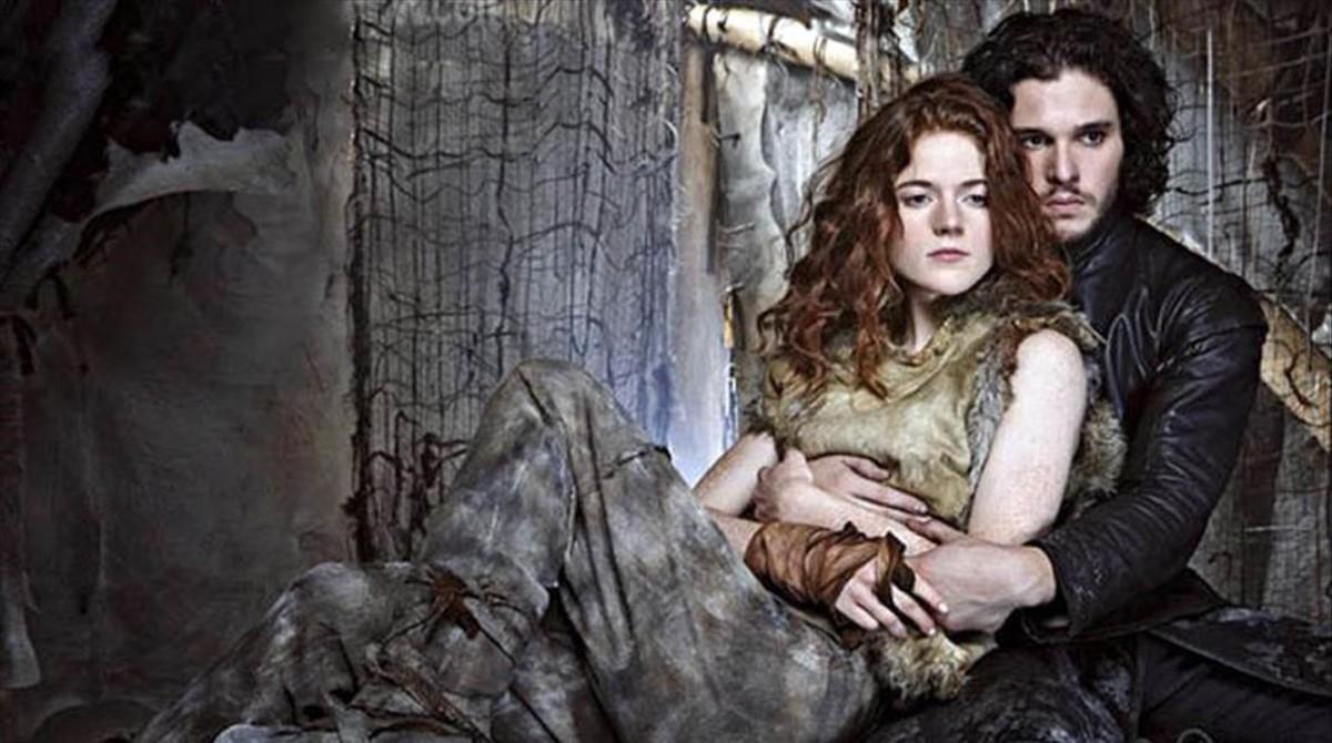 Jon Nieve e Ygritte se casan