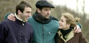 Josu Ternera, con sus hijos Egoitz e Irati.