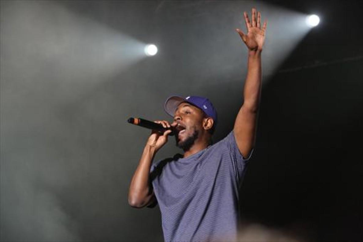 Kendrick Lamar eleva el hip hop.