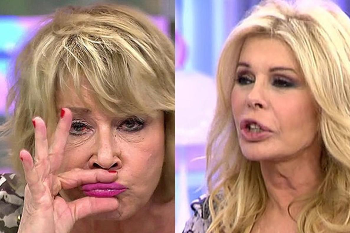"""Mila Ximénez ataca a Bibiana Fernández: """"De mí no se dice que he sido la peor Superviviente"""""""