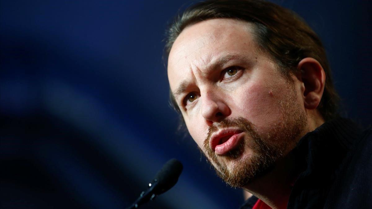 El líder de Unidas Podemos, Pablo Iglesias, analiza el resultado electoral del 10-N