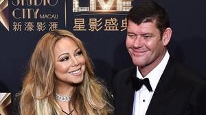 La cantante Mariah Carey y su exnovio, el multimillonario James Packer.