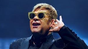 Elton John, este domingo en el Palau Sant Jordi.